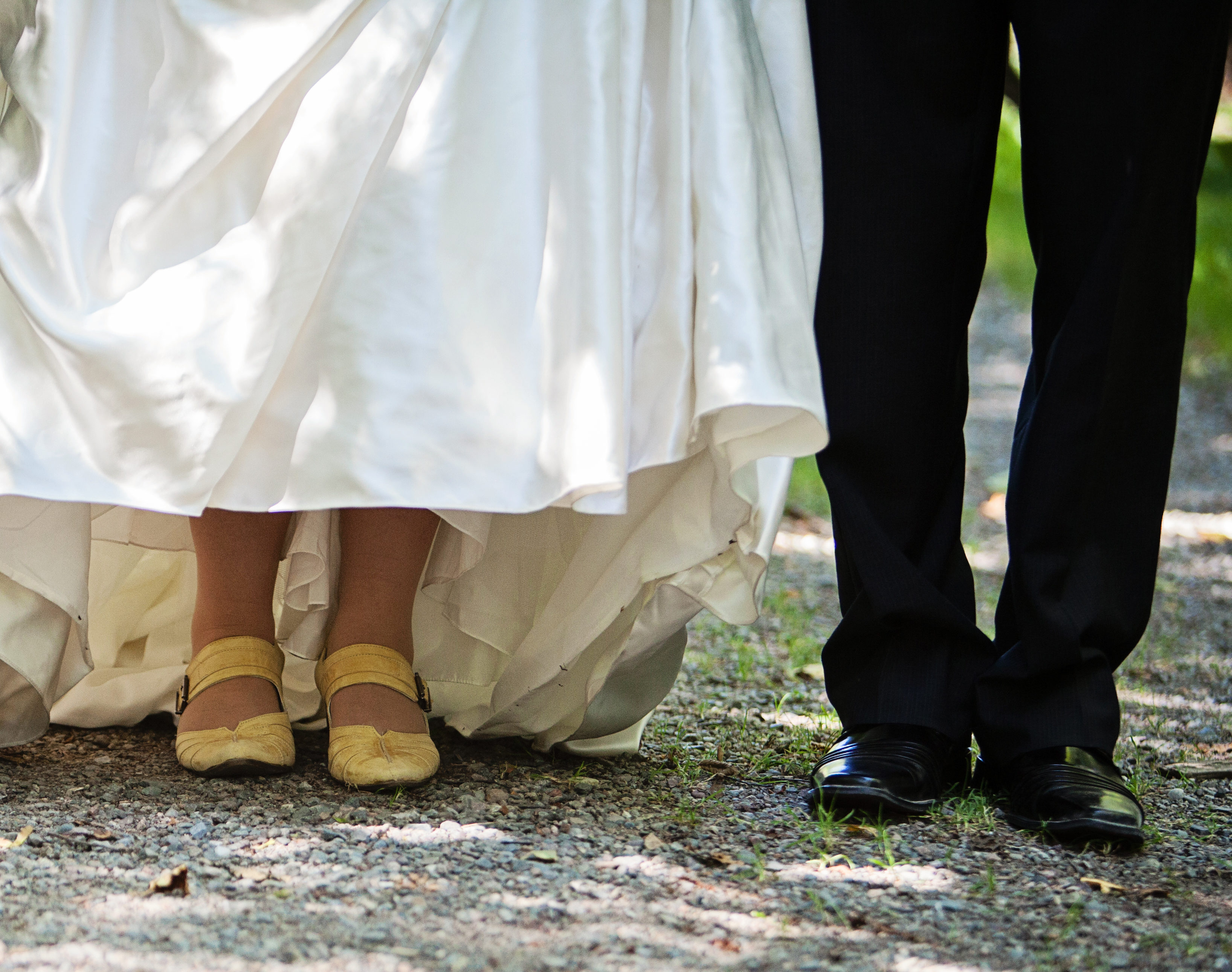 Wedding foot pic